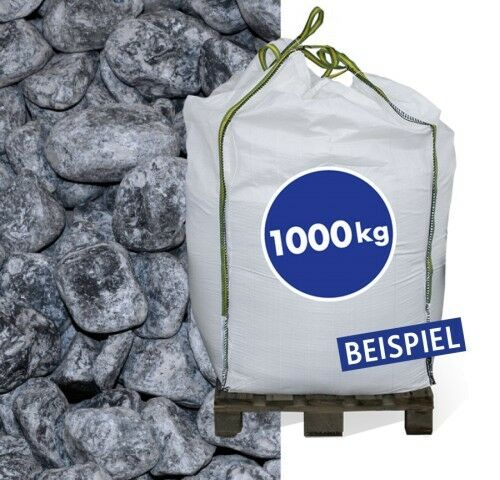 Marmorkies Nero Ebano 40-60mm 1.000kg Big Bag