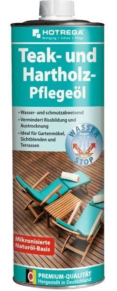 HOTREGA® Teak- und Hartholz-Pflegeöl 1 l