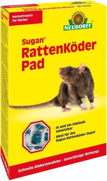 Neudorff® Sugan® RattenKöder Pad 400 g