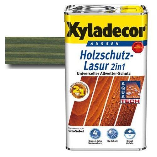Xyladecor® Holzschutz-Lasur 2 in 1 Tannengrün 5 l