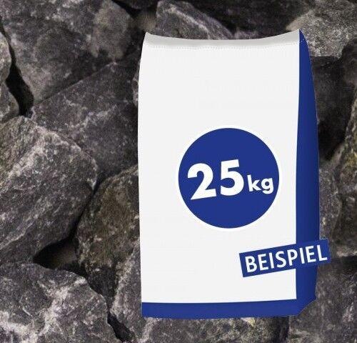 25kg Gabionen Steine Basaltbruch Eifelschwarz Anthrazit 20-40mm