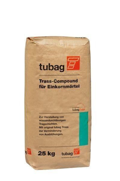 Tubag TCE Trass-Compound für Einkornmörtel 25 kg