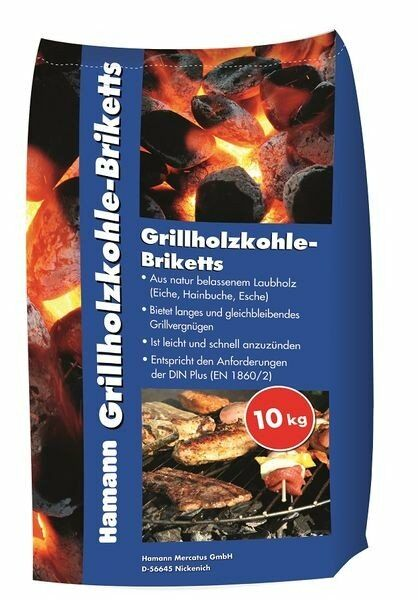 Hamann Grillholzkohle-Briketts 10 kg