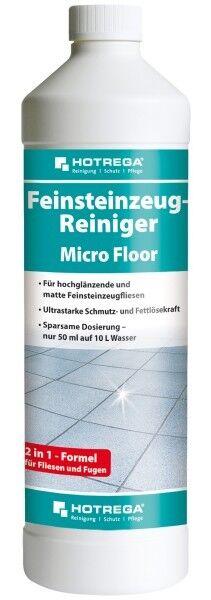 HOTREGA® Feinsteinzeug-Reiniger Micro Floor 1 l