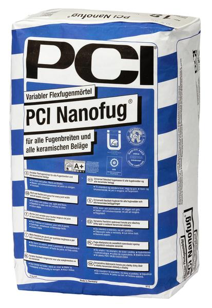 PCI Nanofug® Variabler Flexfugenmörtel 15 kg - 47 Anthrazit