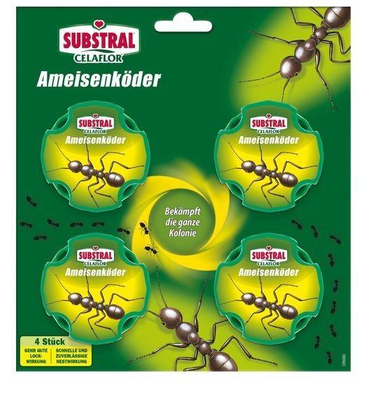 Substral Celaflor Ameisen-Köder 4 Dosen
