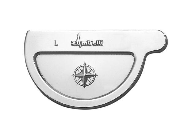 Zambelli VM Blank-Zinc® Rinnenboden halbrund links 280 mm