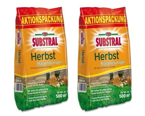 SUBSTRAL® Herbst Rasendünger 25 kg