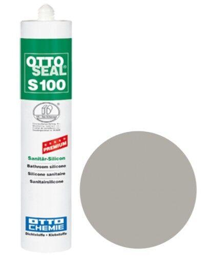 OTTOSEAL® S100 Premium-Sanitär-Silikon/Silicon 300 ml - Flanellgrau C72
