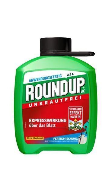 ROUNDUP® AC Unkrautfrei Fertigmischung 2,5 l