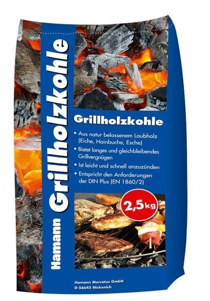 Hamann Grillholzkohle 20-80 mm 2,5 kg