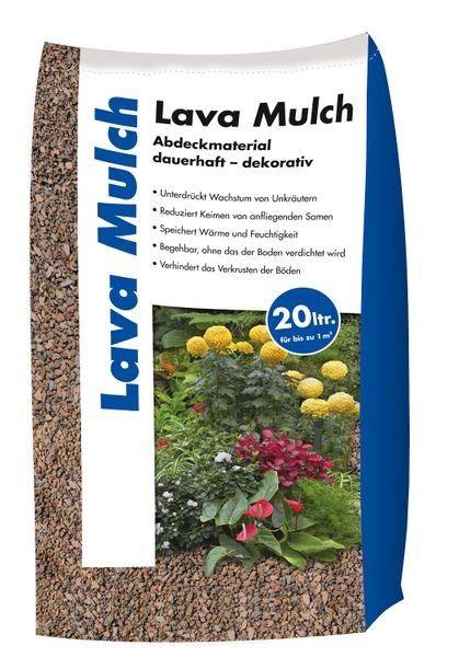 Hamann Lava-Mulch Rot 2-8 mm 20 l