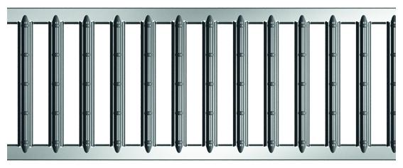 ACO Self® Stegrost Stahl verzinkt 500 mm