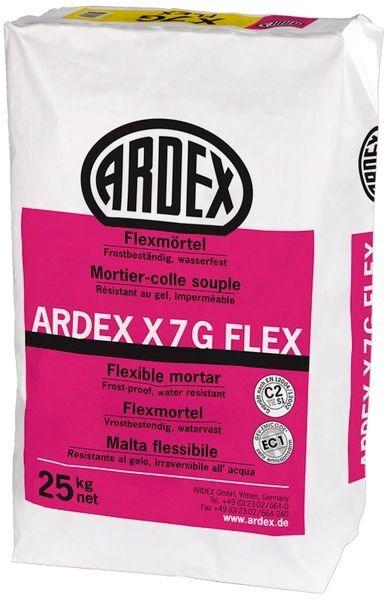 ARDEX X7G FLEX Flexmörtel 25 kg