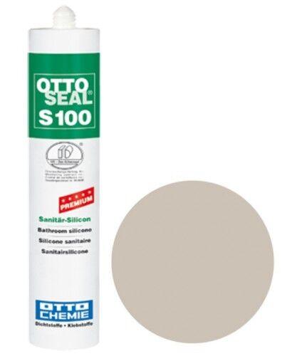 OTTOSEAL® S100 Premium-Sanitär-Silikon/Silicon 300 ml - Graurot C1010