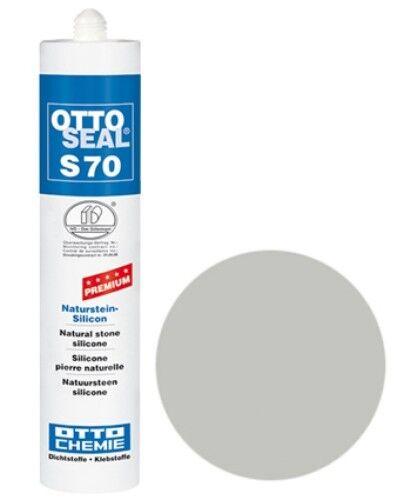 OTTOSEAL® S70 Premium-Naturstein-Silikon/Silicon 310 ml - Sanitärgrau C18