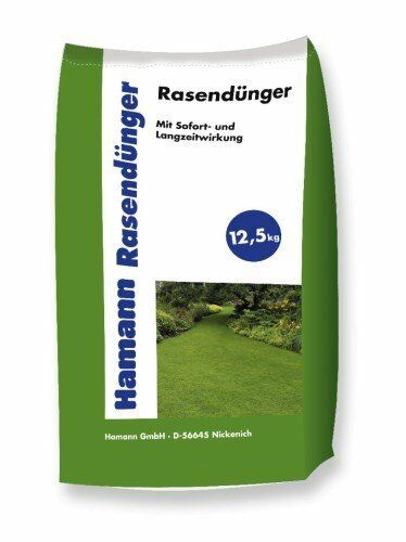 Hamann Rasendünger - Sofort & Langszeitwirkung - 2 x 12,5 kg