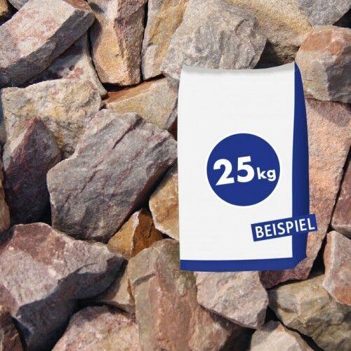 25kg Quarzitbruch Rot 40-70 mm Sack