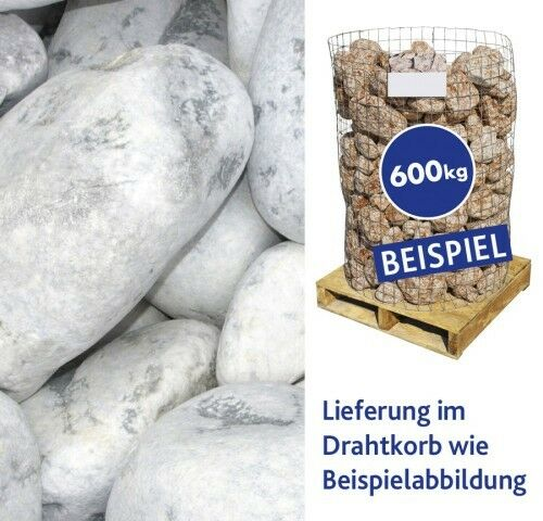 Hamann Marmorkies Carrara 100-300 mm Drahtkorb 600 kg